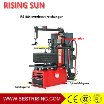 Touchless Tire Mounting Machine With Double Helper Buy Tire