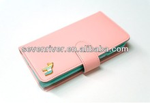 New Arrivel Crown Cell Phone Note2 Organizer Bags/N7100 Phone Cover/Smart Card Holder Purse