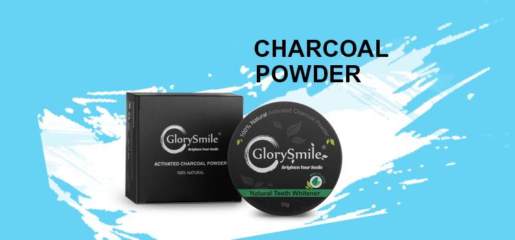 100% Natural Organic Activated Charcoal Teeth Whitening Powder, Mint Rose Lemon flavor (FDA&CE Certified)
