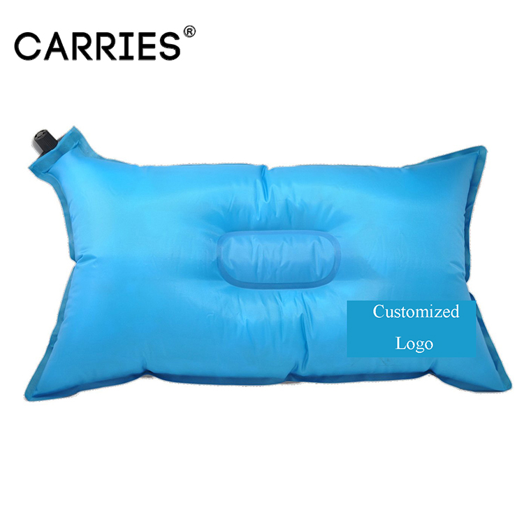 Inflatable Beach Chair Body Head Plastic Pillow For Travel