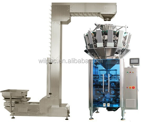 vertical doypack packing machine with multi heads