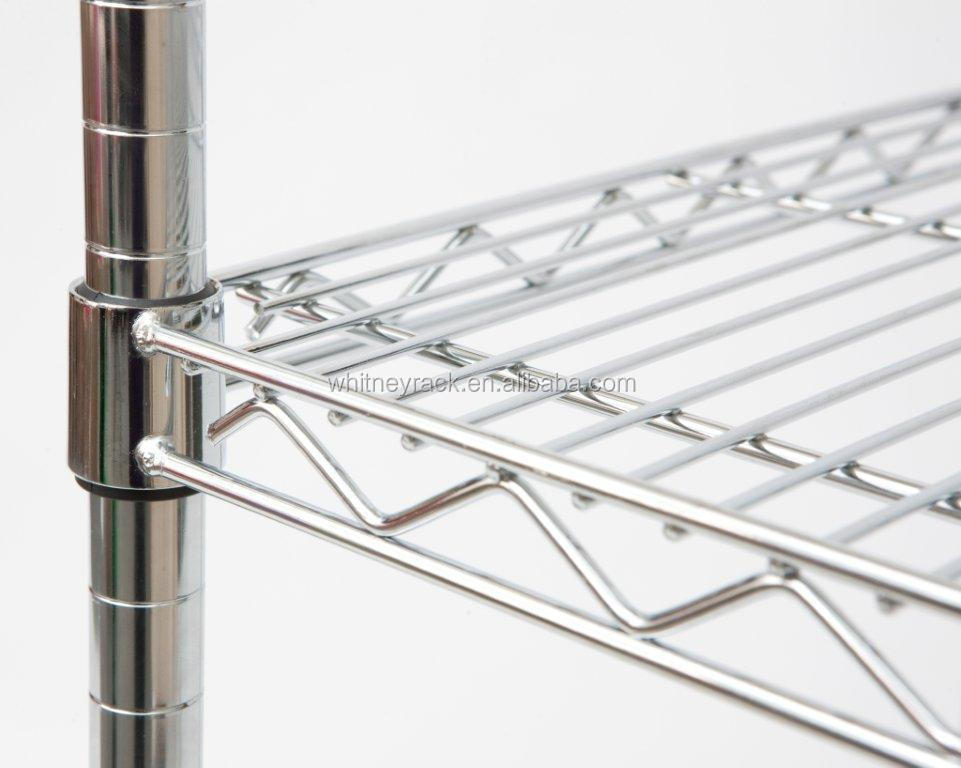 Keukenrek Staand : Stainless Steel Wire Shelving Racks