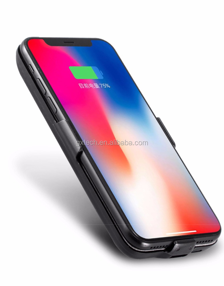 check out 36658 a3bd8 Smart Battery Case For Iphone X,5500mah Rechargeable Portable Charger  Protective Charging Case For Iphone X/10 - Buy Smart Battery Case For  Iphone ...