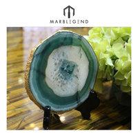 Sparkling images for droplight decor brazilian agate slices wholesale