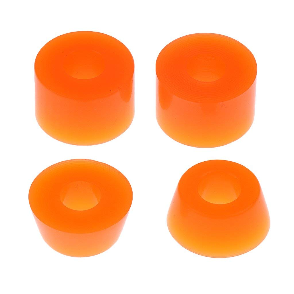 INDEPENDENT TRUCK BUSHINGS Low Conical Cushions Medium 90a ORN Skateboard
