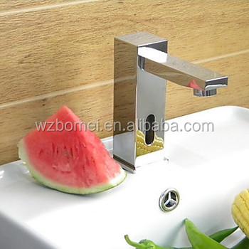 Sensor,Solenoid Valve Are All In Faucet Body Bathroom Sink ...