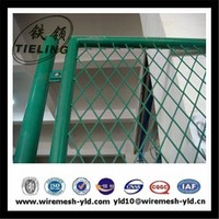 plastic coated expanded metal sheet/diamond mesh (manufacture)