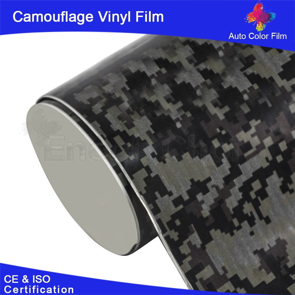en plastique rev tement mural camouflage lectroluminescent racing autocollant de voiture. Black Bedroom Furniture Sets. Home Design Ideas