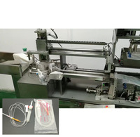 Disposable medical safety infusion set packing sealing wrapping machine