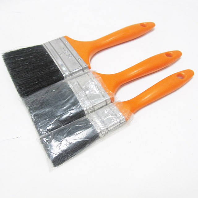 1''-4''hot sell to South American professional plastic handle paint brush