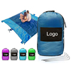 2019 hot sale Custom logo outdoor Camping Sand Proof Parachute Nylon Beach Blanket