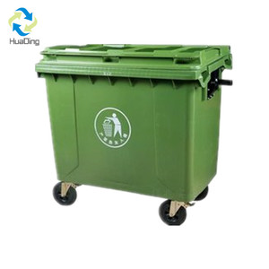 waste management large garbage container dustbin dumpster 1100L for restaurant