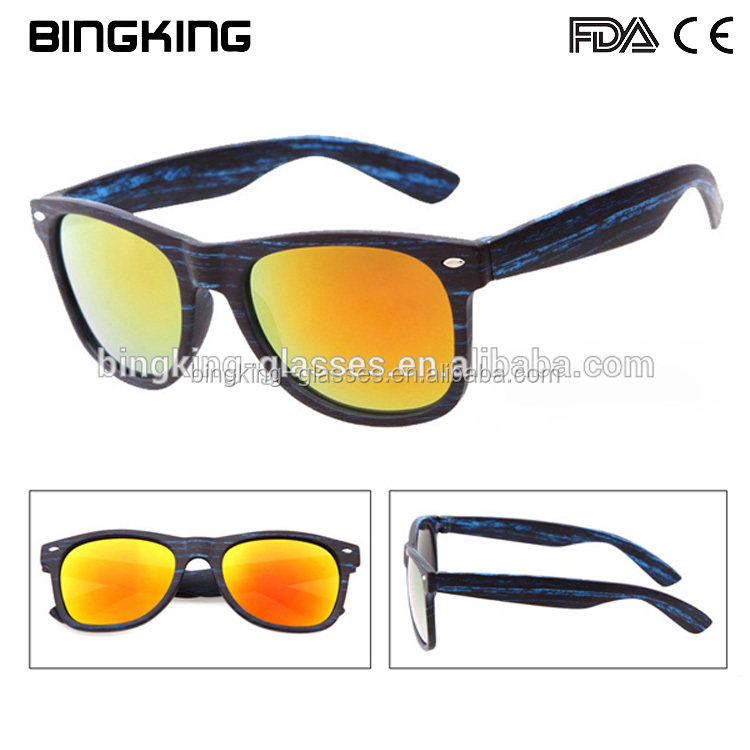 PC metal dots New design promotional novelty plastic Sunglasses