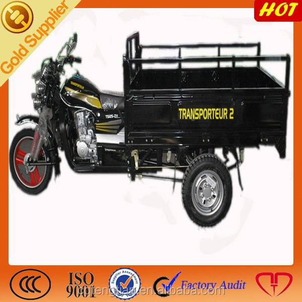 New model three wheel motorcycle for cargo with heavy load capacity