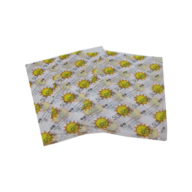 Food Wrapping Grease Proof Paper Made From Dongguan Factory