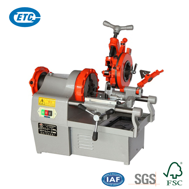 "Multi-Functional 1/2-2"" 750W 24 r/min 220V Automatic 2 Inch Portable Electric Pipe Threading Machine"