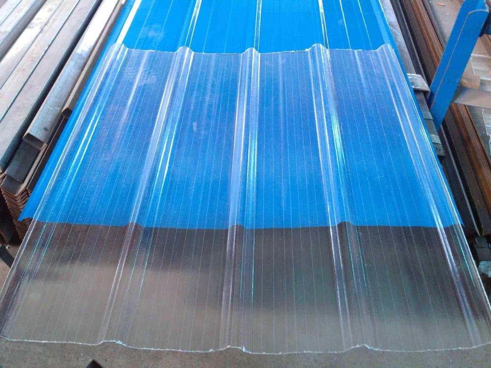 Transparent Frp Roof Sheet Clear Polycarbonate Corrugated
