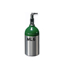 0.3L Small Oxygen bottle,Oxygen cylinder for aluminum medical cylinder