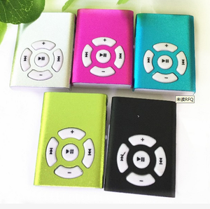 sport clip mini MP3 player with TF/SD card slot support 1-8GB
