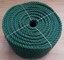 Cheap Twist 3 strand PE Recycle rope for sale