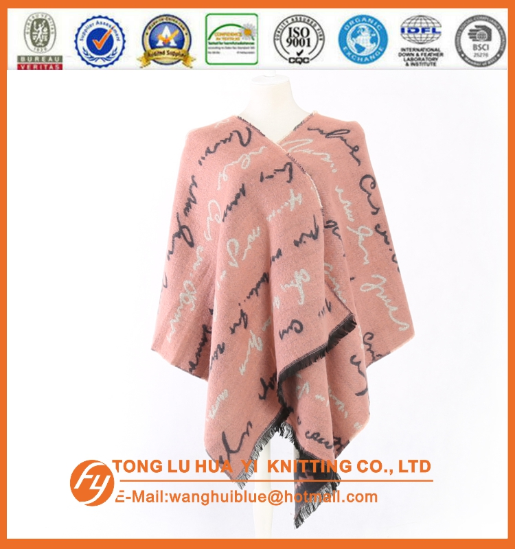 100%acrylic fashion pink soft wholesale woven pattern muslim shawls and scarves