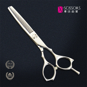 China cheap leaf left hand hair scissors