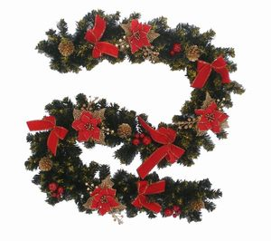 Hot selling fiber optic christmas garland