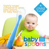 BPA Free Soft and Flexible Silicone Feeding Spoon for Babies