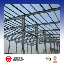 steel structure flat roof prefab villa house