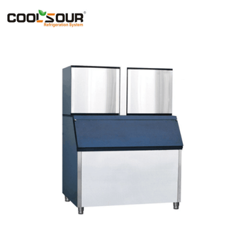 Ice Machine For Coffee Shop And Restaurant /Cube Ice Machine /Stainless Steel Cold Drinks Shops Ice Making Machine