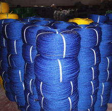 3-30mm colorful twist or double twist pp pe monofilament rope