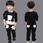 Fashion sport boys clothing spring autumn long sleeve sets baby boy set kids clothing sets boys suits