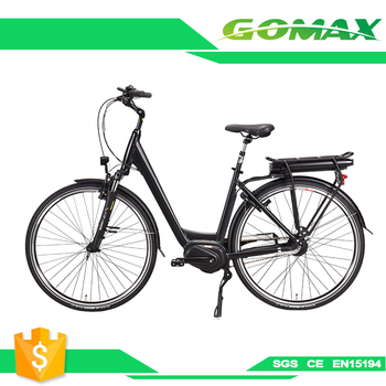 6061 Aluminum Alloy Bike Frame Mid Drive 500w Electric Bicycle Price