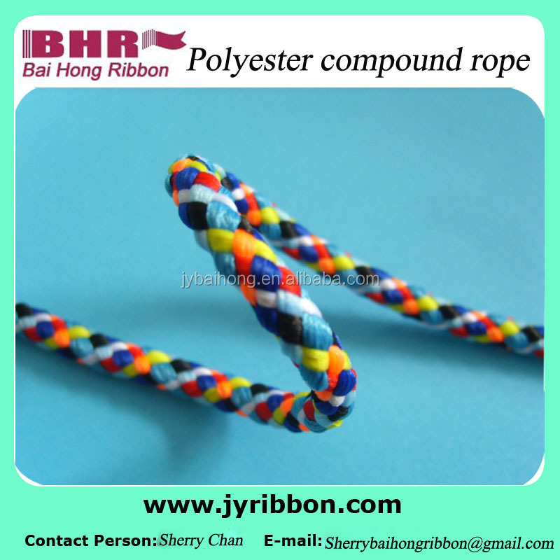 Polyester16 stocks compound rope for binding