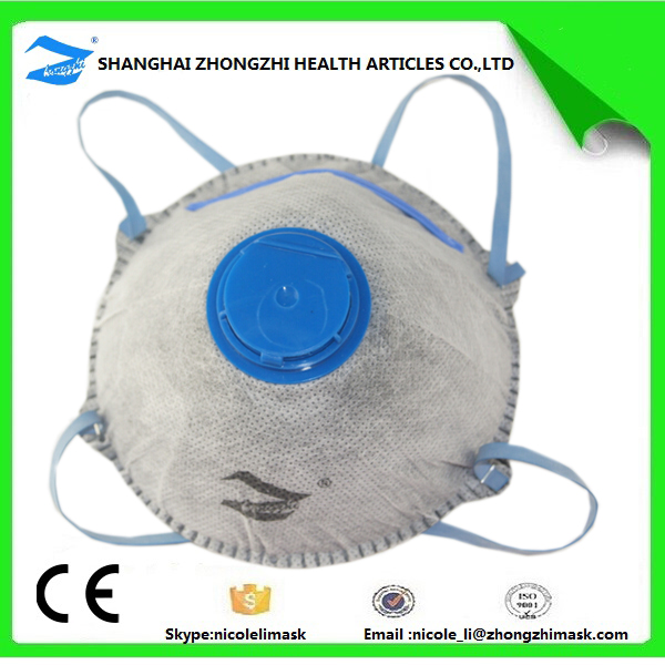 nonwoven material full face dust mask for anti pollution