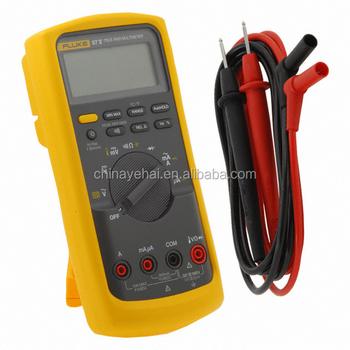 Professional Handheld Digital Multimeter Fluke 87-5,3 3/4 Digital True Rms  Multimeter - Buy Digital Multimeter,Fluke Handheld Multimeter,Standard