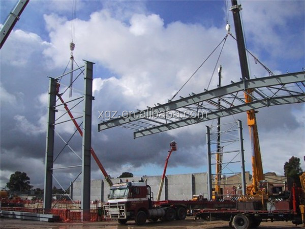 industry with mezzanin low cost prefabricated steel structure workshop