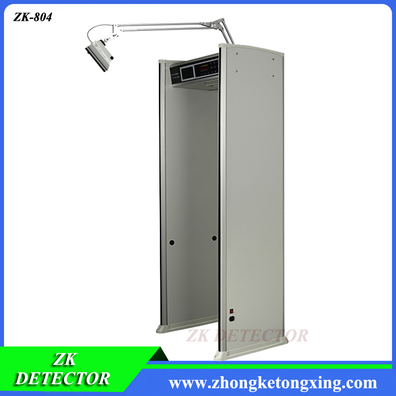 Walk Through Door Frame Metal Detector with Camera and Video