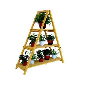 chelle en bois usine stand simple trois chelle intrieure supports pour plantes