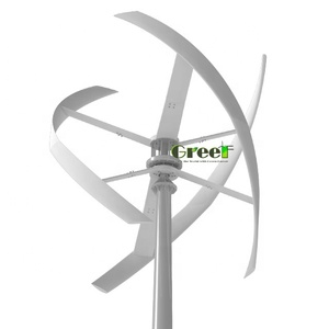 On-grid 5kw rooftop use windmill generator 5kw vertical roof mounted wind turbine