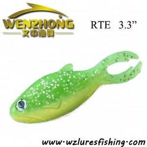 Painted machine injected soft carp fishing bait