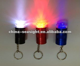 10 color led flashlight