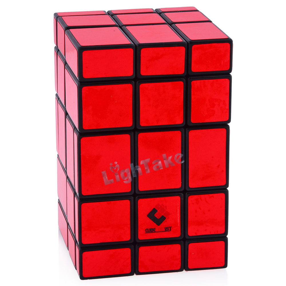 CubeTwist 3x3x5 Black Body Mirror Conjoint Magic Cube Educational Toys For Kids Children