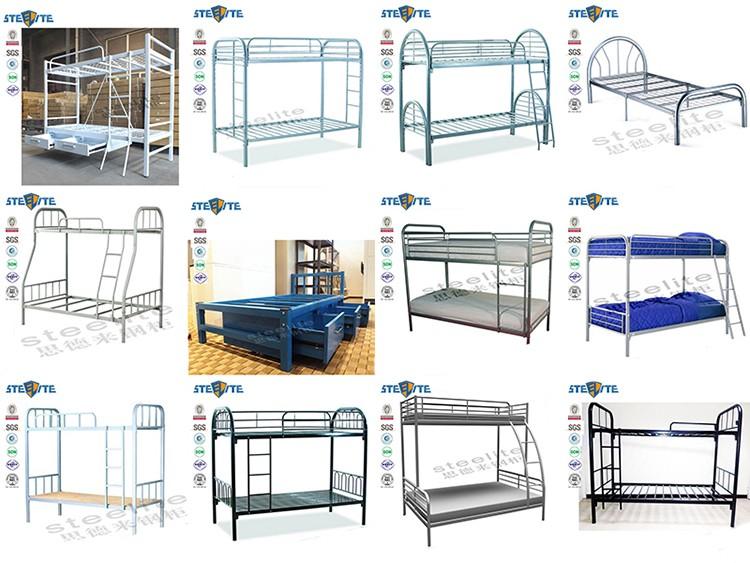 Cheap Factory Sale Military Dorm Dubai Bunk Bed Iron