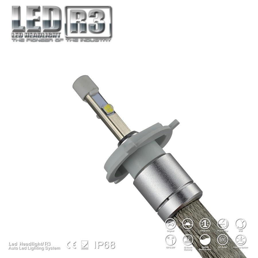 R3 Led Headlight H4 Led Headlight Light For Volkswagen Amarok ...