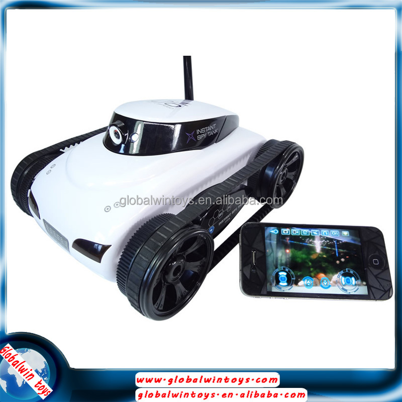 2015 iPhone/iPad Controlled 4CH wifi remote control tank/robot