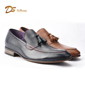 Low cut tassel comfortable fancy classy casual leather shoes for men