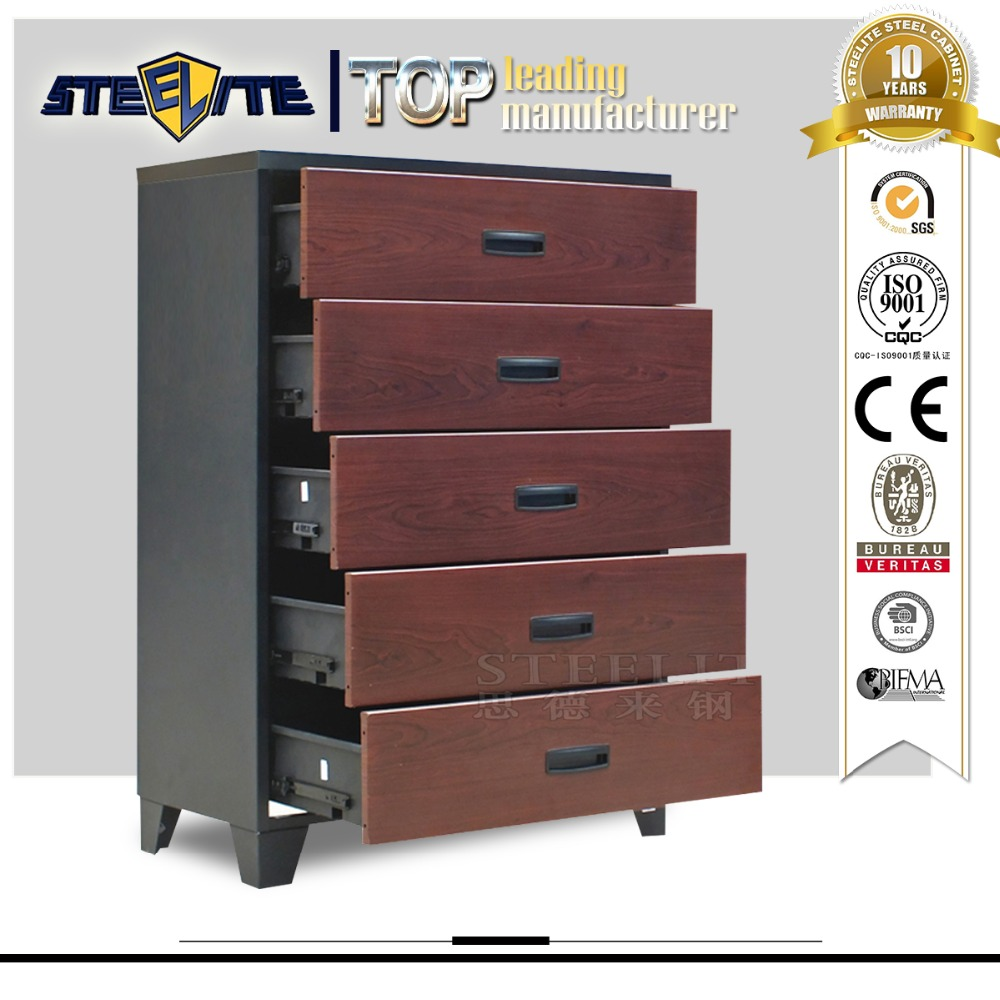 5 Drawer Metal File Cabinet Luoyang Sale Office Steel Furniture 5 Drawer Cabinet Chinese