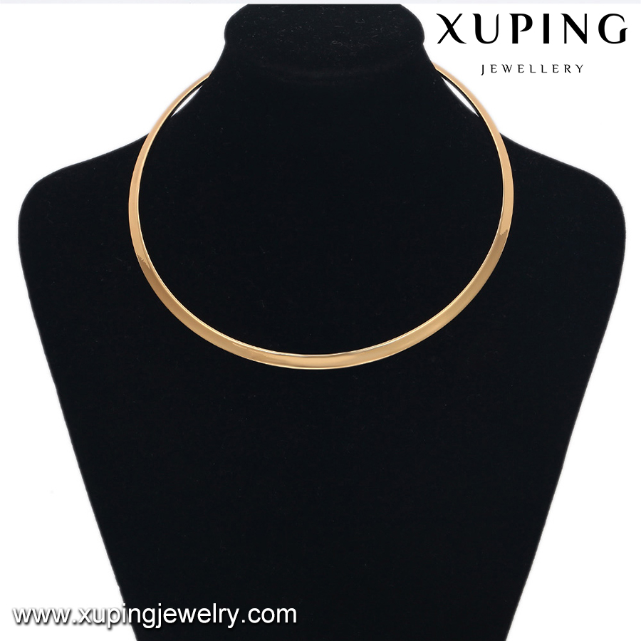 42997-Xuping 2016 New Hot Gold Jewelry Collar Necklace For Women