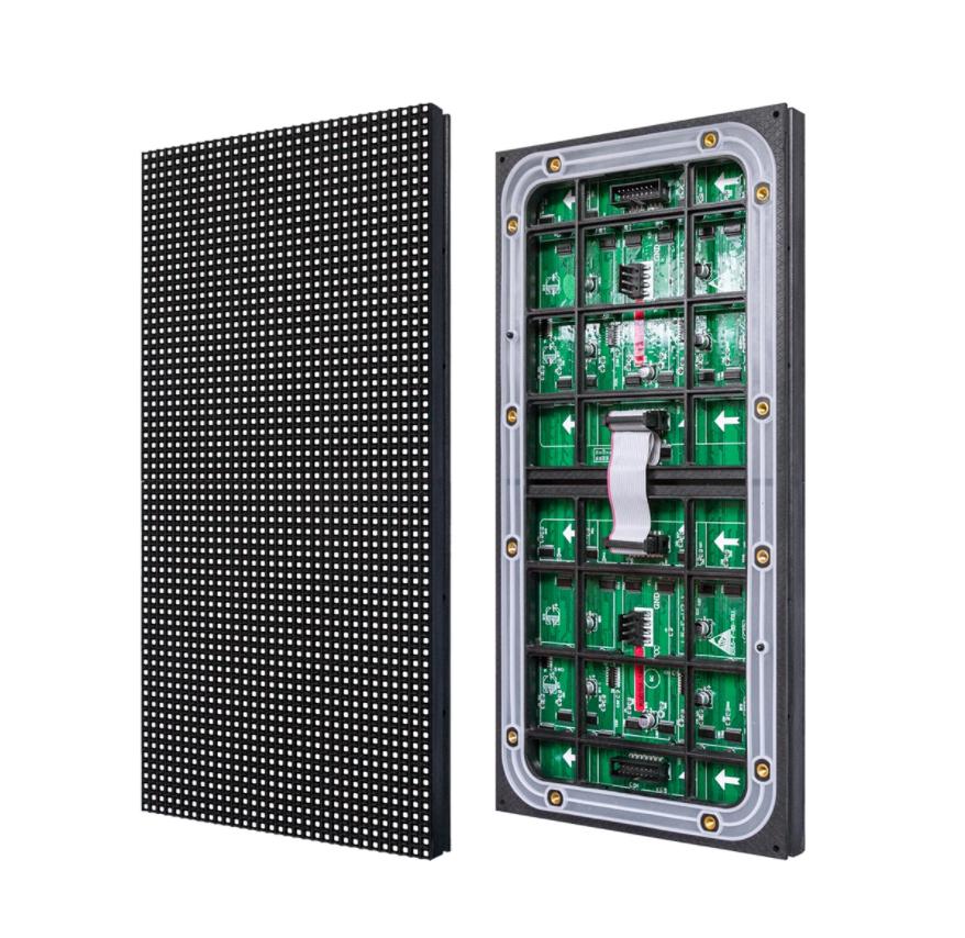 Levt ph6mm parete video a led di colore completo pannello ph16mm perimetro stadio display dello schermo di calcio scoreboard